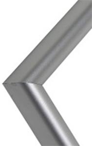 Lijst mat zilver
