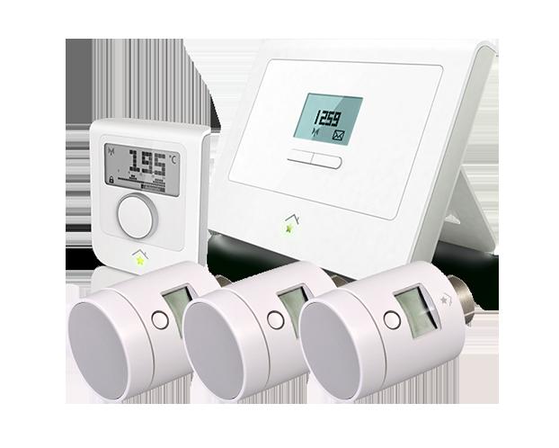 Uitzonderlijk Slimme thermostaat pakket voor stadsverwarming. Zoneregeling IJ05