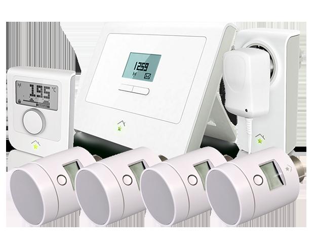 good innogy smarthome het slimme thermostaat pakket bestaat uit meerdere producten with slimme. Black Bedroom Furniture Sets. Home Design Ideas