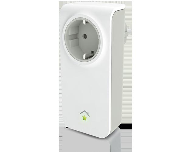 Stekker-schakelaar voor in het stopcontact   SmartHomeSupply