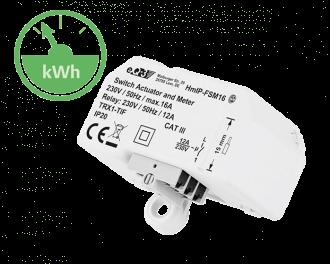 De Alpha IP schakel module kan elektrische verwarming en infrarood verwarming aansturen.