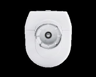 In de slimme thermostaatknop zit een sterk elektrisch motortje. De opening voor de doorstroming van water naar de radiator kan tot op 1% nauwkeurig aangestuurd worden.