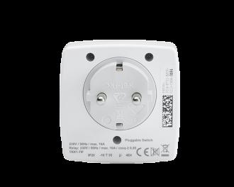 De stekkerschakelaar kan tot maximaal 3680 Watt belast worden (16A).
