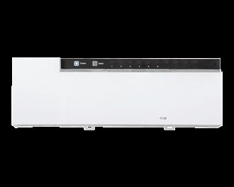 De Alpha IP zoneregelaar is een module om vloerverwarming aan te sturen als zoneregeling.