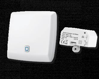 Inclusief Alpha IP access point en schakel module voor het infraroodpaneel