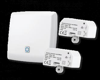 Inclusief Alpha IP access point en twee schakel modules (1 per infraroodpaneel)