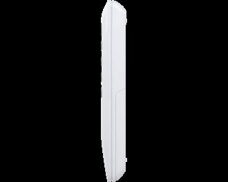 De afmetingen van de afstandsbediening zijn 4,6 x 13,1 x 1,9 cm.