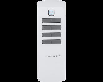 De afstandsbediening wordt toegevoegd aan het Homematic IP systeem via het Access Point. Dit is de hub van het Homematic IP systeem.