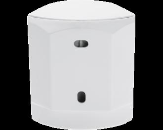 De afmetingen van de draadloze bewegingsmelder zijn 5,2 x 6,2 x 3,4 cm.