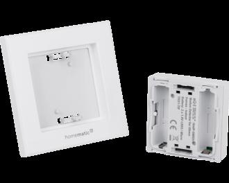 De bewegingsmelder wordt toegevoegd aan het Homematic IP systeem via het Access Point. Dit is de hub van het Homematic IP systeem.