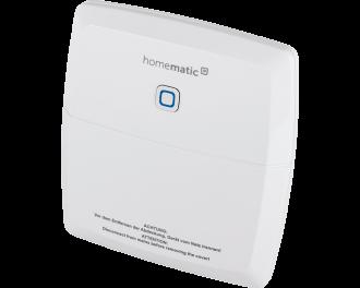 De Homematic IP CV-ketel en warmtebron module stuurt de CV-ketel of een andere warmtebron aan als er verwarmd moet worden in een of meerdere kamers.