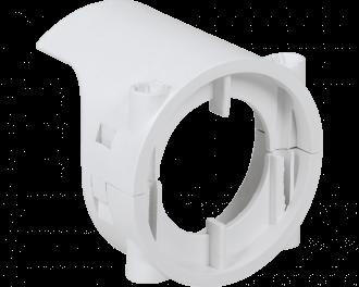 De diefstal beveiliging is uitsluitend geschikt voor de Homematic IP thermostaatknop met display en instelknop. Niet geschikt voor thermostaatknop comtact (zonder display).