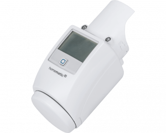 De diefstal beveiliging is geschikt voor de Homematic IP thermostaatknop met display en instelknop.