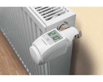 De afmetingen van de diefstal beveiliging zijn 4,6 x 4,6 x 4,6 cm. De gehele montagediepte van de thermostaatknop verandert niet.
