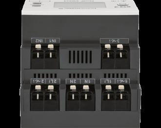 """De dimmer is voorzien van 3 bedrade inputs waarop """"normale"""" drukknoppen met behoud van de bestaande installatiedraden aangesloten worden."""