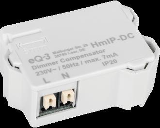 De compensator wordt met twee aansluitdraden parallel aangesloten over de verlichting, alsof het een extra LED lamp is.