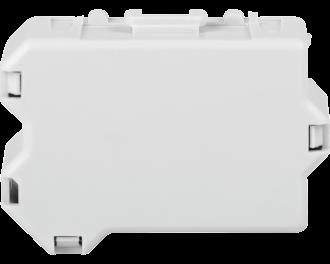 De afmetingen van de module zijn 3,9 x 2,8 x 1,6 cm (B x H x D). De compensator past in ronde inbouwdozen en in vierkante verdeeldozen of kan ingebouwd worden in de lampvoet.