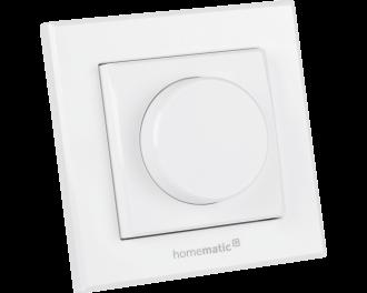 De draaiknop is een afstandsbediening voor de Homematic IP slimme dimmer voor merk-wipvlak, de inbouw dimmer module of de stekkerdimmer.