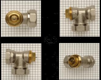 """De M28 afsluiter adapter past op Comap / SAR afsluiters. Dit zijn foto's van Comap / SAR afsluiters. Het logo op de afsluiter is uitgeschreven in de letters """"sar""""."""