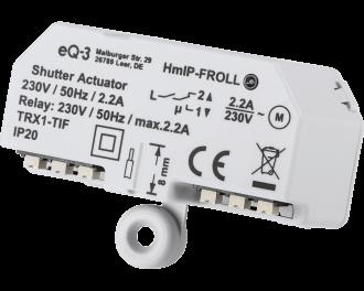 Het is ook mogelijk om het rolluik of de zonwering te laten reageren op bewegingsmelders of lichtsterkte sensoren.