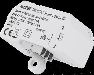 Het ingebouwde relais kan maximaal 2750 Watt schakelen. Dit is 12 Ampere, voldoende vermogen om één tot drie elektrische verwarmingen of infraroodpanelen samen te schakelen.