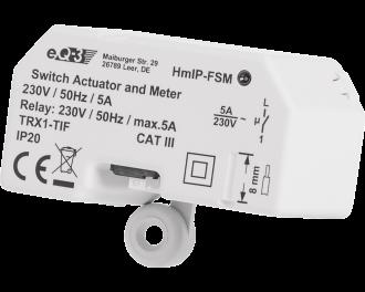 De 1150 Watt schakel module is geschikt voor elektrabedrading met een vaste kern tot 1,5 mm2. Draden van 2,5 mm2 kunnen alleen toegepast worden met een los mee te bestellen adapterset van 2,5 naar 1,5 mm2.
