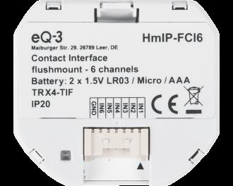 De input module wordt toegevoegd aan het Homematic IP systeem via het Access Point. Dit is de hub van het Homematic IP systeem.