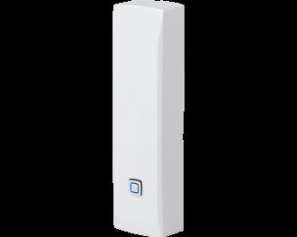 De Homematic IP input module maakt een standaard deurbel, magneetcontact of glasbreuk sensor.