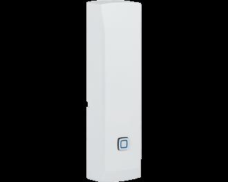 De module detecteert een druk op de knop of een sluiting van het contact en kan hiermee alarm functies of andere Homematic IP apparaten aansturen.