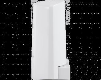 De lichtsterkte sensor wordt toegevoegd aan het systeem via het Access Point. Dit is de hub van het Homematic IP systeem.
