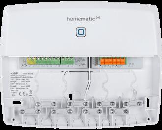 De module heeft twee aansluitingen en twee ingangen. Met de aansluitingen wordt de warmtepomp zelf en de pomp van een buffervat aangestuurd. De ingangen worden gebruikt om de koelstand te activeren en om externe temperatuurbegrenzers of luchtvochtigheidssensoren aan te sluiten.