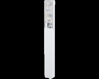 De Homematic IP raam- en deursensor inbouw past in het kozijn en detecteert openen en sluiten van ramen en deuren met een optische sensor.