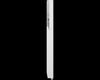 De sensor is een slank apparaatje. De afmetingen zijn 1,9 x 16,6 x 1,25 cm (B x H x D).