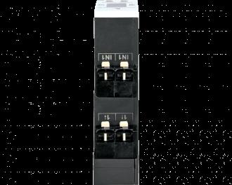 """De module is voorzien van 1 bedrade inputs waarop """"normale"""" schakelaars en drukknoppen aangesloten kunnen worden, met behoud van de bestaande installatiedraden."""