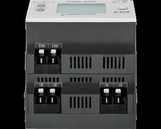 """De module is voorzien van 4 bedrade inputs waarop """"normale"""" schakelaars en drukknoppen met behoud van de bestaande installatiedraden aangesloten worden."""