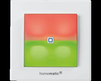 De LED signaallamp kan gekoppeld worden aan eco-functies voor verwarming, kan dienen als oriëntatieverlichting in de nacht of als statuslamp voor het alarm.