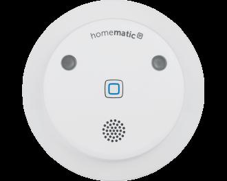 De sirene wordt toegevoegd aan het Homematic IP systeem via het Access Point. Dit is de hub van het Homematic IP systeem.