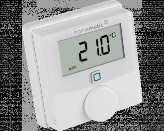 In dit voorbeeld is het montagevlak gecombineerd met een Homematic IP thermostaat.