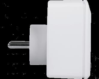 De stekkerschakelaar kan gekoppeld worden aan Homematic IP thermostaten en bewegingsmelders. Tijdsprofielen en functies voor klimaat, verlichting of beveiliging zijn in te stellen via de Homematic IP app. De afmetingen van de stekkerschakelaar zijn 7,0 x 7,0 x 3,9 cm (zonder de stekker).