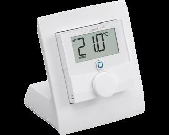 In dit voorbeeld is de tafelstandaard gecombineerd met een Homematic IP thermostaat.