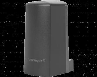 De temperatuur en luchtvochtigheid sensor wordt toegevoegd aan het systeem via het Access Point. Dit is de hub van het Homematic IP systeem.