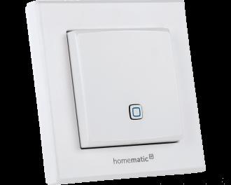 De temperatuursensor bevat geen instelwieltje en geen display. De gewenste temperatuur wordt ingesteld via de Homematic IP app.