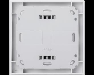 De thermostaat kan vlak op een muur bevestigd worden, of vastgeschroefd worden op een verdeeldoos voor elektra.
