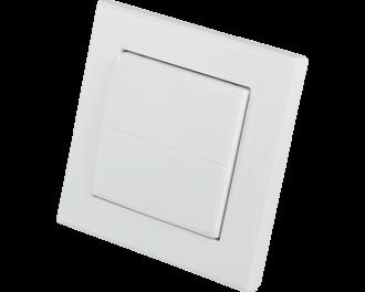 Homematic IP standaard wipvlak voor gebruik op inbouw schakelaars, dimmers en drukknoppen.