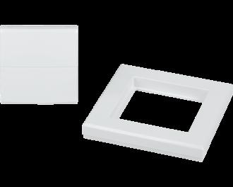 Het wipvlak is geschikt voor Homematic IP schakelaar voor merk-wipvlak (HmIP-BSM).