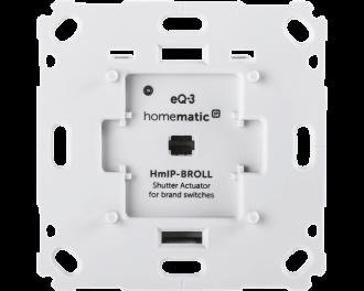 De schakelaar wordt toegevoegd aan het Homematic IP systeem via het Access Point. Dit is de hub van het Homematic IP systeem.
