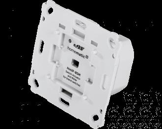 De schakelaar is geschikt voor elektra bedrading met vaste kern tot 1,5 mm2. Draden van 2,5 mm2 kunnen toegepast worden met een los mee te bestellen adapterset van 2,5 naar 1,5 mm2.