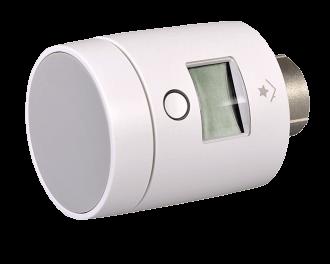 4x SmartHome thermostaatknop 2.0 - om de toevoer van warm CV-water naar de radiatoren te openen en sluiten...
