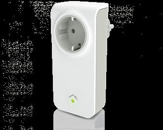 SmartHome stekker schakelaar voor verlichting of andere apparaten zoals een elektrische kachel, ventilator of televisie