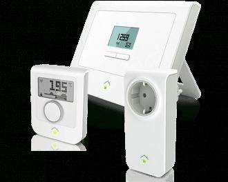 Slimme infraroodverwarming thermostaat pakket met stekker schakelaar voor in het stopcontact